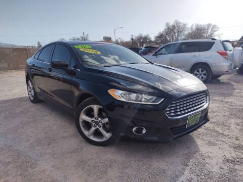 2016 Ford Fusion for sale at Canyon View Auto Sales in Cedar City UT