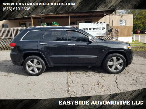 2014 Jeep Grand Cherokee for sale at EASTSIDE AUTOMOTIVE LLC in Nashville TN