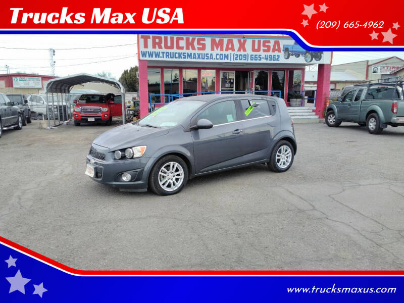 2012 Chevrolet Sonic for sale at Trucks Max USA in Manteca CA