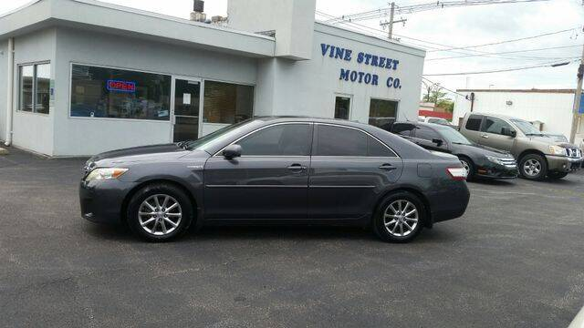 2011 Toyota Camry Hybrid for sale at VINE STREET MOTOR CO in Urbana IL