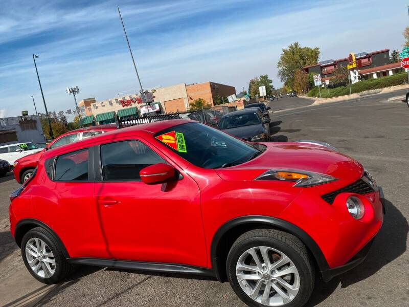 2015 Nissan JUKE for sale at Sanaa Auto Sales LLC in Denver CO