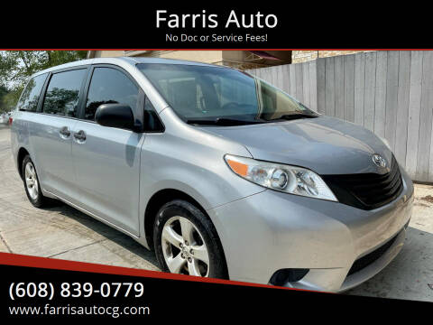 2015 Toyota Sienna for sale at Farris Auto in Cottage Grove WI