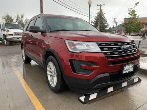 2017 Ford Explorer for sale at Northwest Auto Sales & Service Inc. in Meeker CO