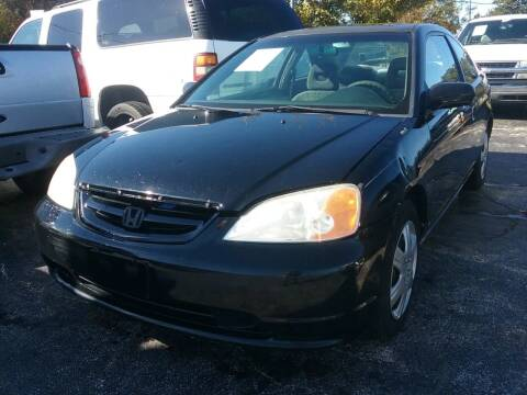 2001 Honda Civic for sale at Dave-O Motor Co. in Haltom City TX