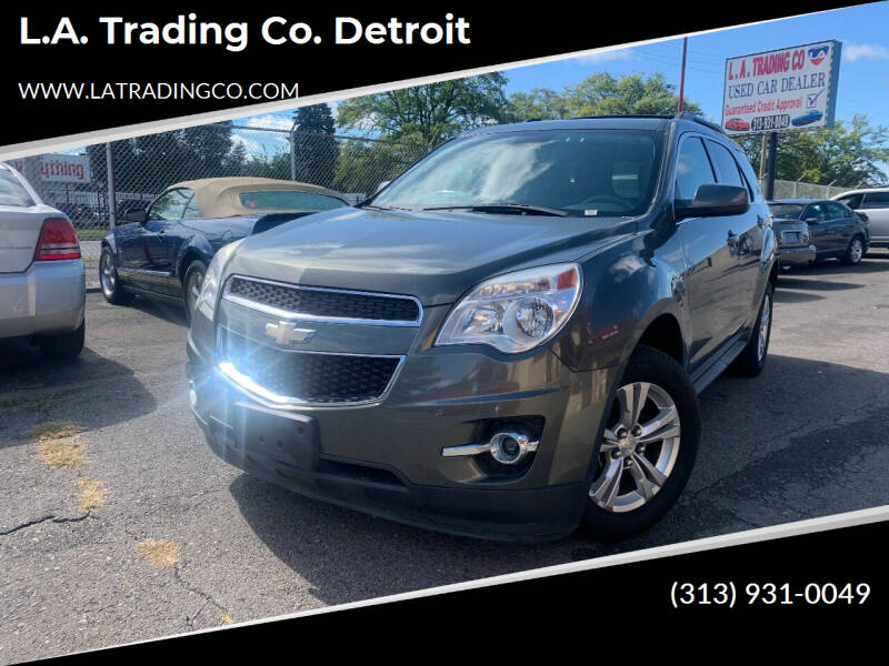 2013 Chevrolet Equinox for sale at L.A. Trading Co. Detroit in Detroit MI