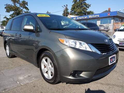 2012 Toyota Sienna for sale at All American Motors in Tacoma WA