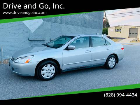 2004 Honda Accord for sale at Drive and Go, Inc. in Hickory NC