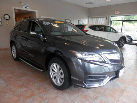 2016 Acura RDX for sale at ABSOLUTE AUTO CENTER in Berlin CT
