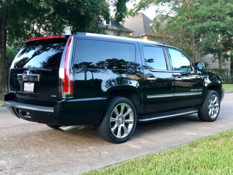 2007 Cadillac Escalade ESV for sale at Texas Auto Corporation in Houston TX