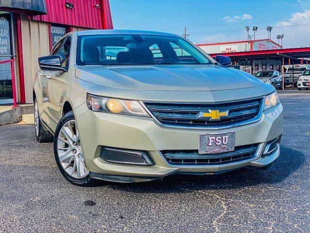 2014 Chevrolet Impala for sale at MAGNA CUM LAUDE AUTO COMPANY in Lubbock TX