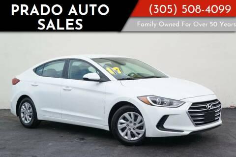 2017 Hyundai Elantra for sale at Prado Auto Sales in Miami FL