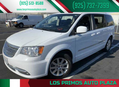 2015 Chrysler Town and Country for sale at Los Primos Auto Plaza in Brentwood CA