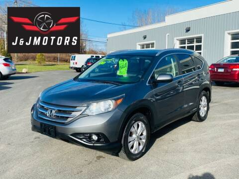 2013 Honda CR-V for sale at J & J MOTORS in New Milford CT
