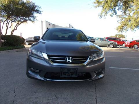 2014 Honda Accord for sale at ACH AutoHaus in Dallas TX