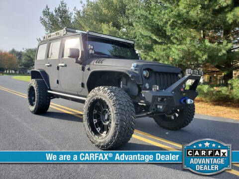 2014 Jeep Wrangler Unlimited for sale at RoseLux Motors LLC in Schnecksville PA