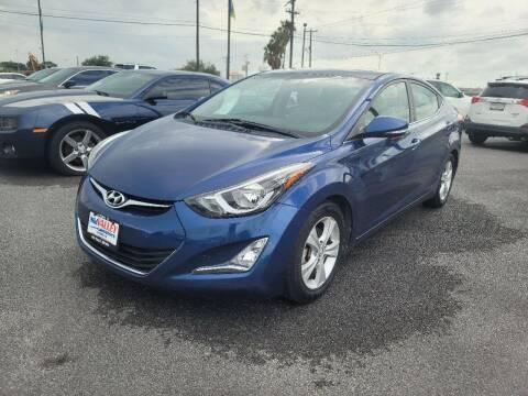 2016 Hyundai Elantra for sale at Mid Valley Motors in La Feria TX