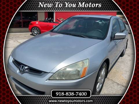 2004 Honda Accord for sale at New To You Motors in Tulsa OK