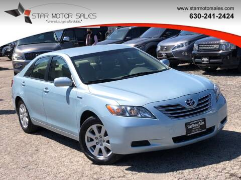 2009 Toyota Camry Hybrid for sale at Star Motor Sales in Downers Grove IL