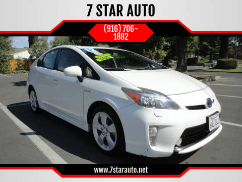 2012 Toyota Prius for sale at 7 STAR AUTO in Sacramento CA