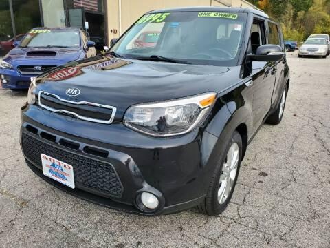 2016 Kia Soul for sale at Auto Wholesalers Of Hooksett in Hooksett NH