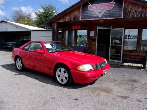 1999 Mercedes-Benz SL-Class for sale at LEE AUTO SALES in McAlester OK