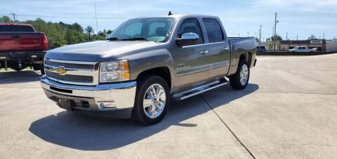 2013 Chevrolet Silverado 1500 for sale at WHOLESALE AUTO GROUP in Mobile AL