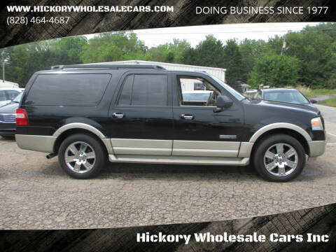 2007 Ford Expedition EL for sale at Hickory Wholesale Cars Inc in Newton NC