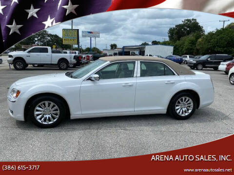 2013 Chrysler 300 for sale at ARENA AUTO SALES,  INC. in Holly Hill FL