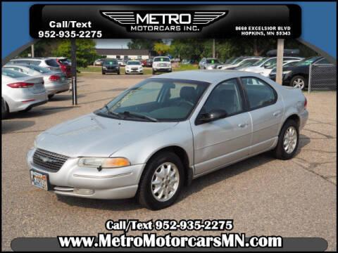 2000 Chrysler Cirrus for sale at Metro Motorcars Inc in Hopkins MN