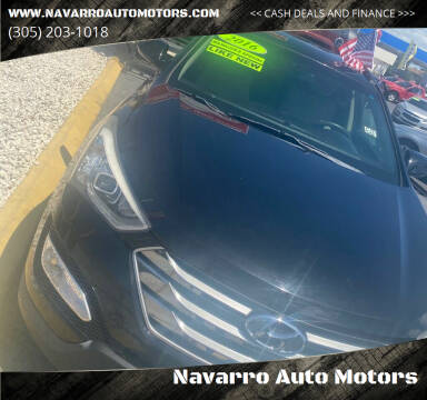 2016 Hyundai Santa Fe Sport for sale at Navarro Auto Motors in Hialeah FL