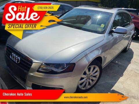 2012 Audi A4 for sale at Cherokee Auto Sales in Acworth GA