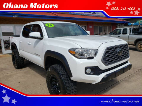 2020 Toyota Tacoma for sale at Ohana Motors - Lifted Vehicles in Lihue HI