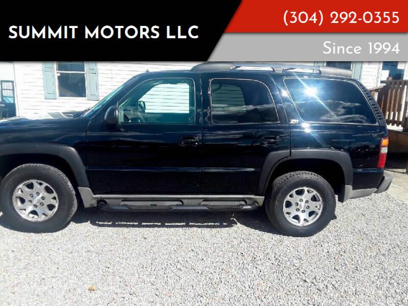 2002 Chevrolet Tahoe for sale at Summit Motors LLC in Morgantown WV