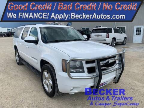 2008 Chevrolet Suburban for sale at Becker Autos & Trailers in Beloit KS