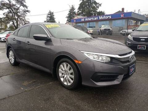 2016 Honda Civic for sale at All American Motors in Tacoma WA