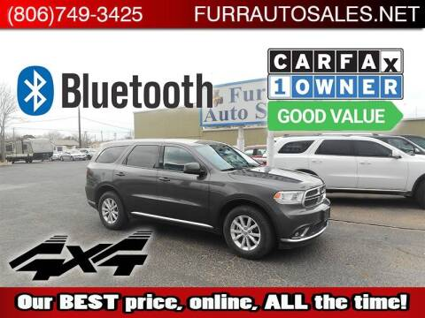 2015 Dodge Durango for sale at FURR AUTO SALES in Lubbock TX