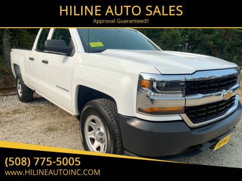 2016 Chevrolet Silverado 1500 for sale at HILINE AUTO SALES in Hyannis MA