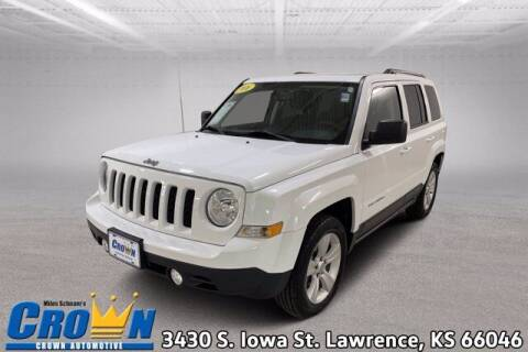 2016 Jeep Patriot for sale at Crown Automotive of Lawrence Kansas in Lawrence KS