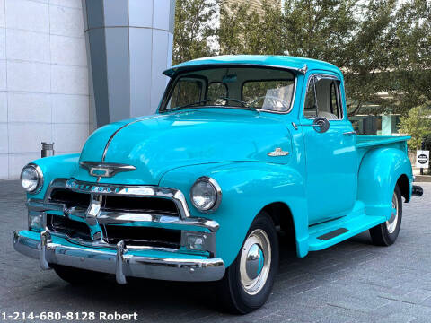 1955 Chevrolet 3100 for sale at Mr. Old Car in Dallas TX