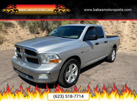 2009 Dodge Ram Pickup 1500 for sale at Baba's Motorsports, LLC in Phoenix AZ
