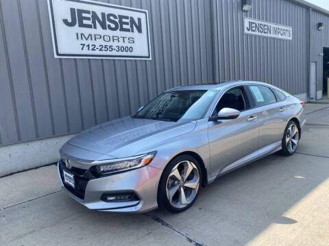 2018 Honda Accord for sale at Jensen's Dealerships in Sioux City IA