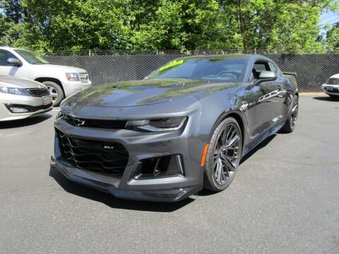 2018 Chevrolet Camaro for sale at LULAY'S CAR CONNECTION in Salem OR
