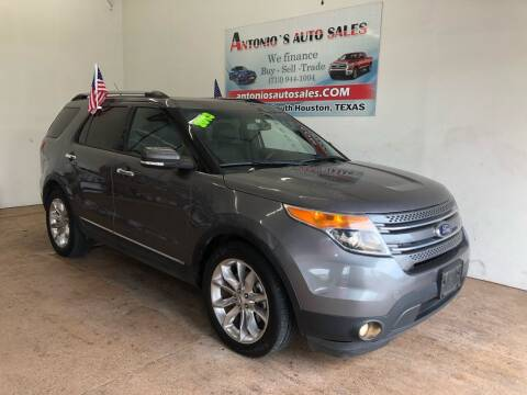 2013 Ford Explorer for sale at Antonio's Auto Sales - Antonio`s  2206 in Pasadena TX