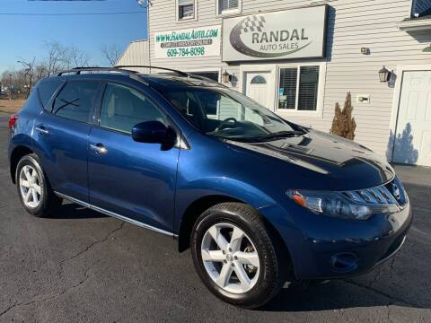 2010 Nissan Murano for sale at Randal Auto Sales in Eastampton NJ