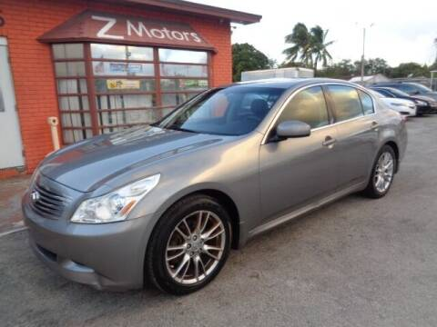 2008 Infiniti G35 for sale at Z MOTORS INC in Hollywood FL