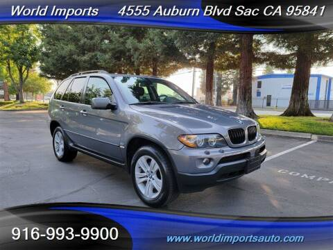 2006 BMW X5 for sale at World Imports in Sacramento CA