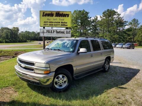 2003 Chevrolet Suburban for sale at Lewis Motors LLC in Deridder LA