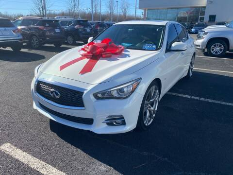 2014 Infiniti Q50 for sale at Charlotte Auto Group, Inc in Monroe NC