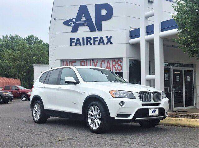 2014 BMW X3 for sale at AP Fairfax in Fairfax VA