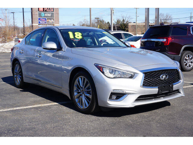 2018 Infiniti Q50 for sale at Classified pre-owned cars of New Jersey in Mahwah NJ